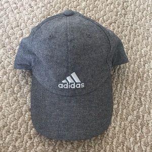 grey adidas baseball cap